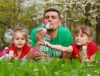 famille camping nature var